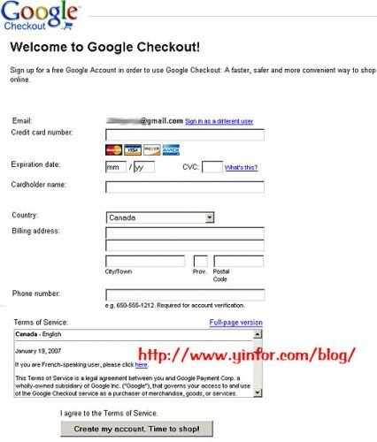 google-checkout-app