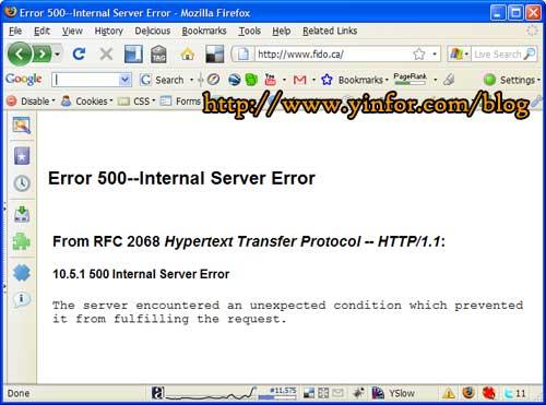 fido-500-error