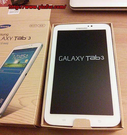Unboxed Samsung Galaxy Tab 3