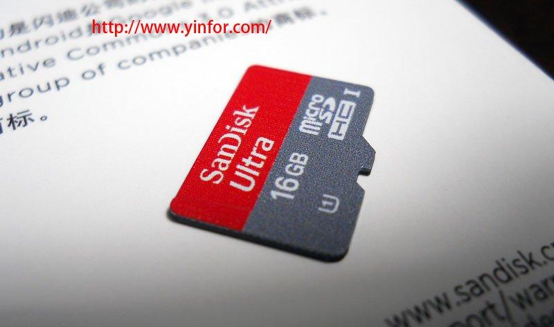 SanDisk Ultra 16GB microSDHC