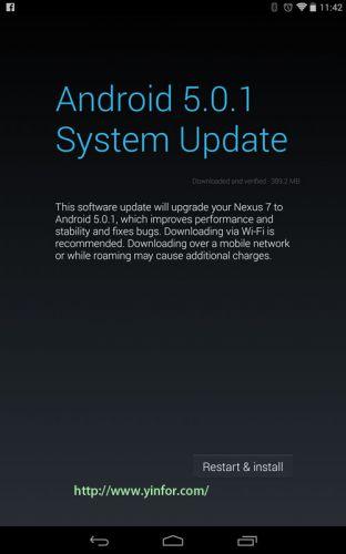 andriod-5.0.1-update