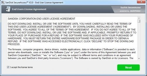 secureaccess agreement