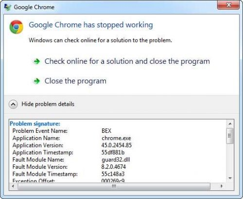 google-chrome-45--crash