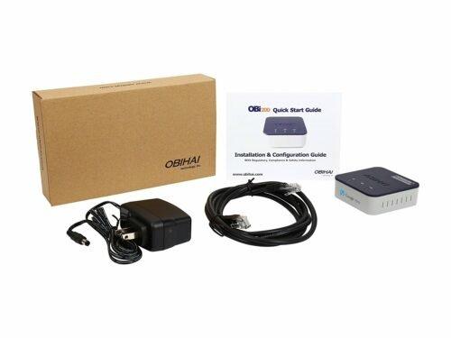 Open Box of OBi200