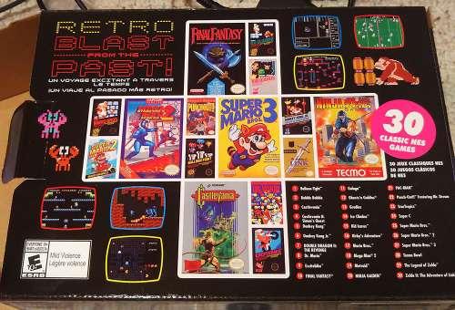 NES Classic Box Back