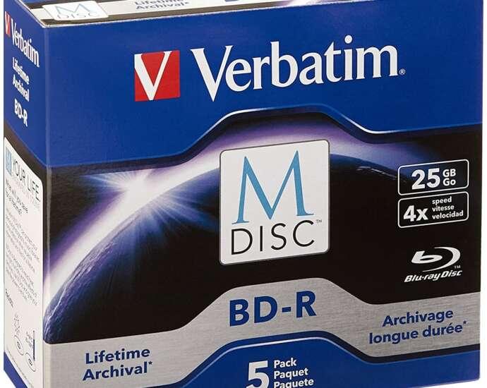 Verbatim M-Disc BD-R 25GB